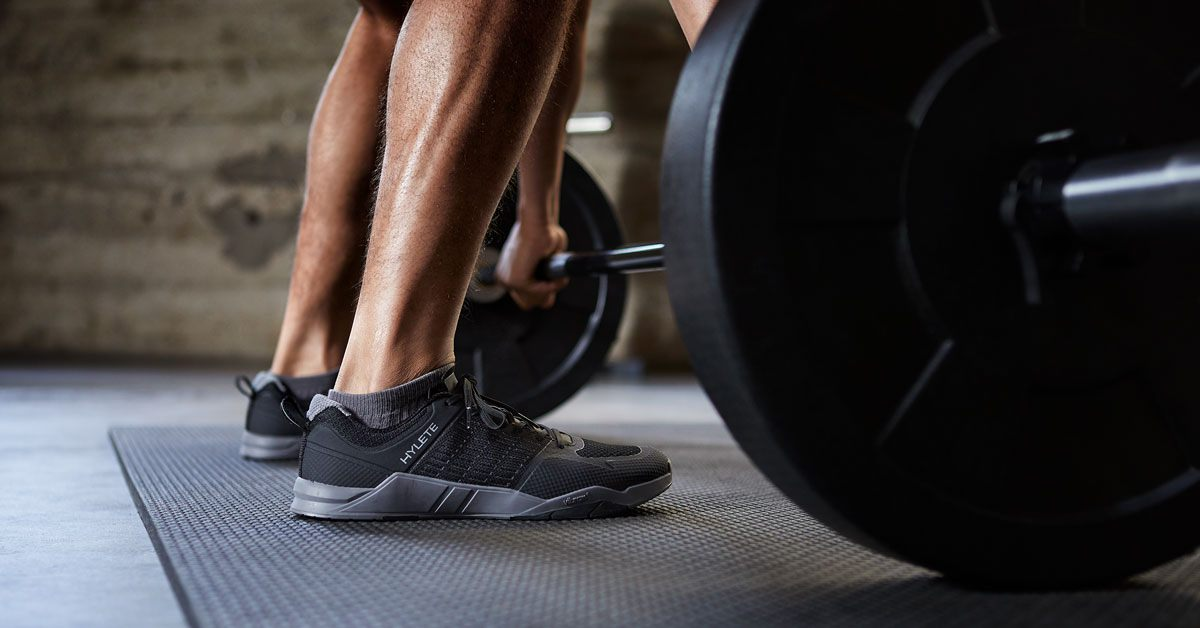 Lift, Train, and Run in One Shoe.