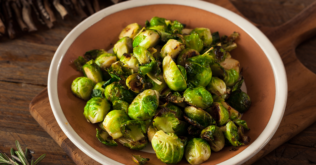Tasty Sweet Brussels Sprouts Recipe