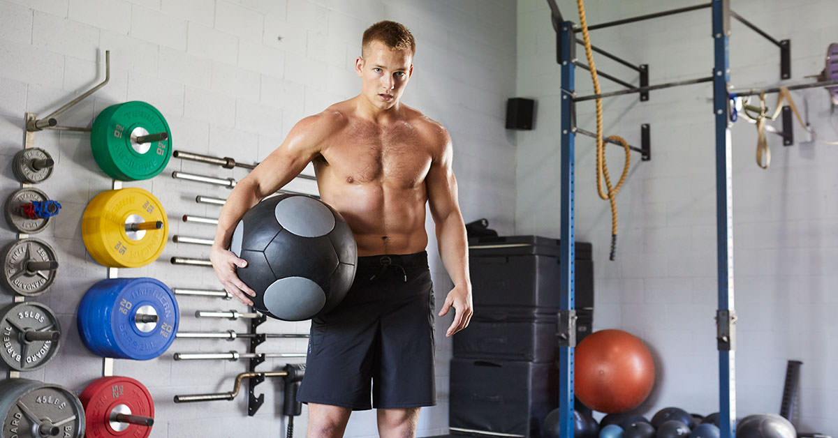 Movement Tip: Wall Ball - Reverse Lunge - Shoulder Carry