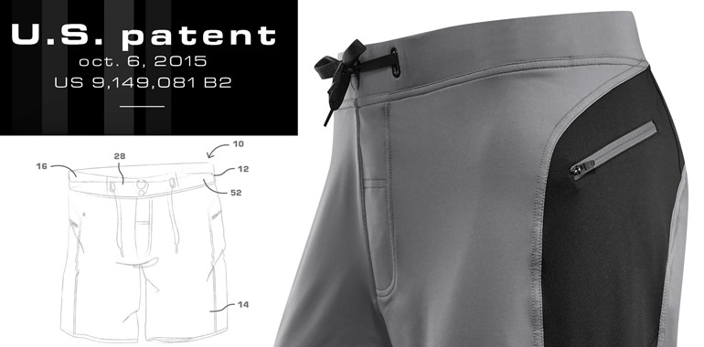 HYLETE     patented waistband system