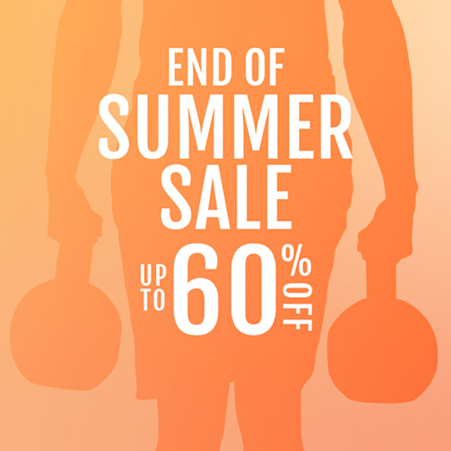 End of Summer Sale - Up To 60% Off