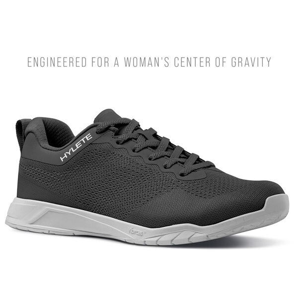 Engineered for a Woman's Center of Gravity