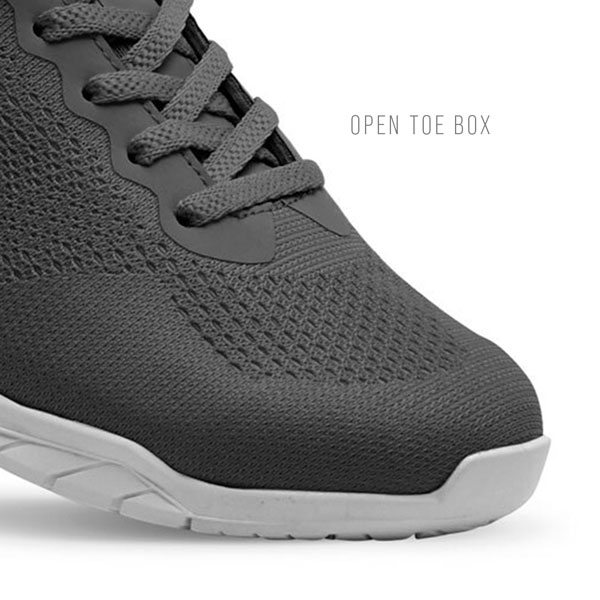 Increased Stability - Open Toe Box